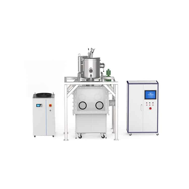 vacuum indium alloy melting furnace